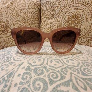 Celine Audrey 55mm Sunglasses Opaque Rose